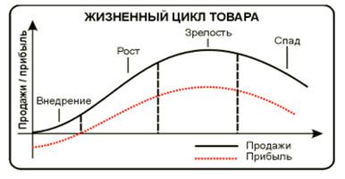 стадии жизненного цикла товара