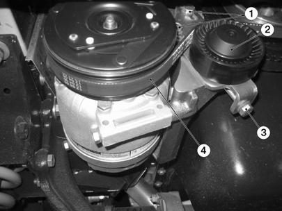 Снятие и установка компрессора