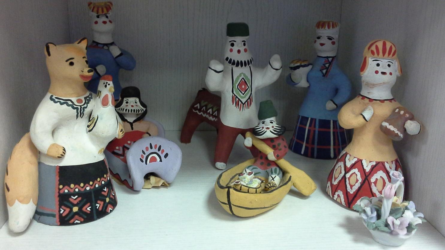 каргопольская игрушка картинки с названиями