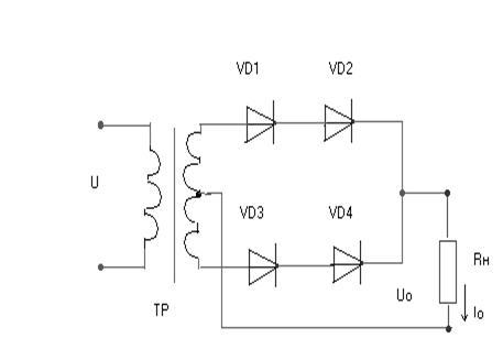 Решение задачи расчет выпрямителей цифровые устройства и микропроцессоры решения задач