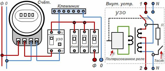 Схема подключения трёхфазного счётчика фото 731
