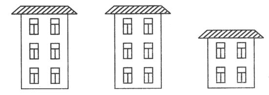 Многоэтажные дома раскраска