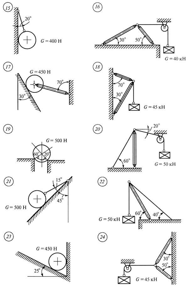 Решебник по расчётно-графические задания по технической механике