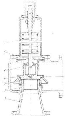 Клапан предохранительный СППК4 200-16