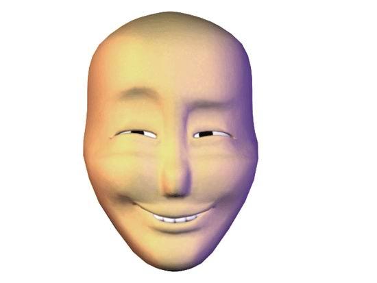 Говорящее лицо анимация