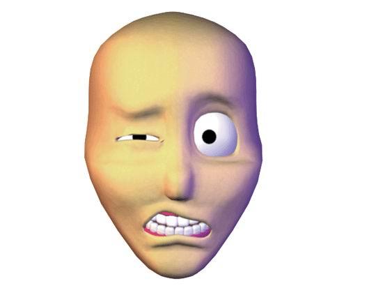 Шпагат смешные, говорящее лицо анимация