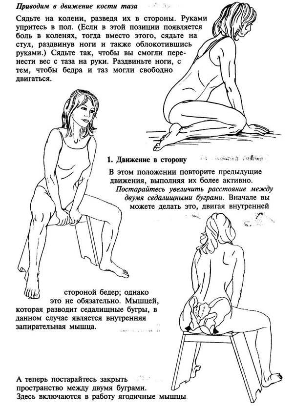 Упражнения для копчика и крестца