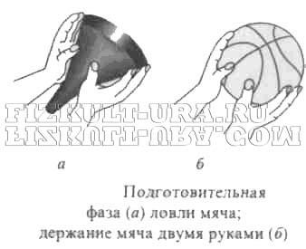 ловля мяча в баскетболе одной рукой