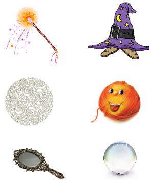 Сказочные волшебные предметы картинки