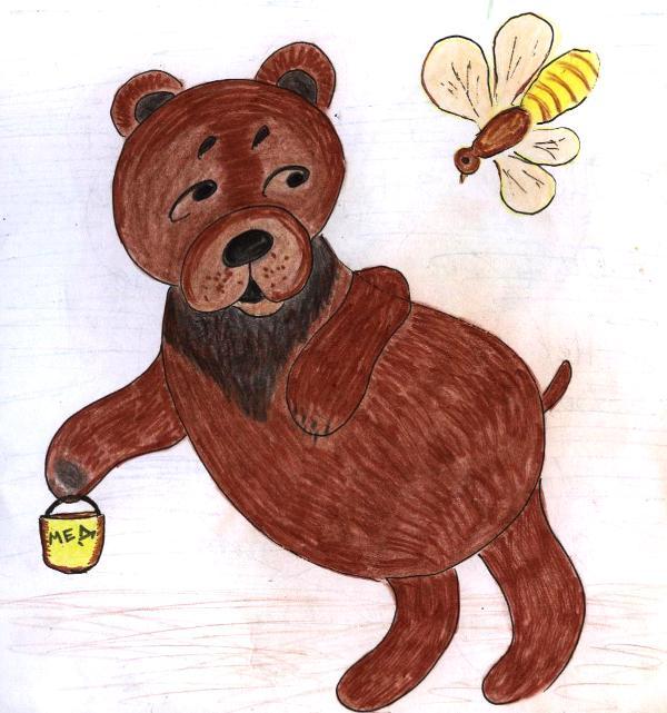картинки к подвижной игре медведь и пчелы еще очень полезны