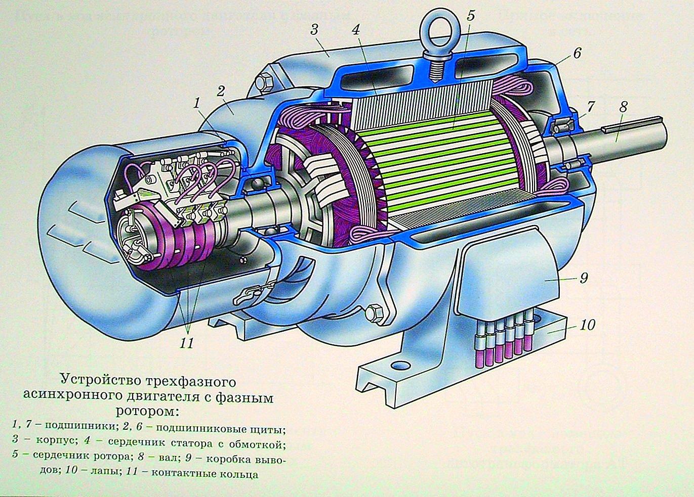 асинхронный электродвигатель с фазным ротором фото раздражение нежной