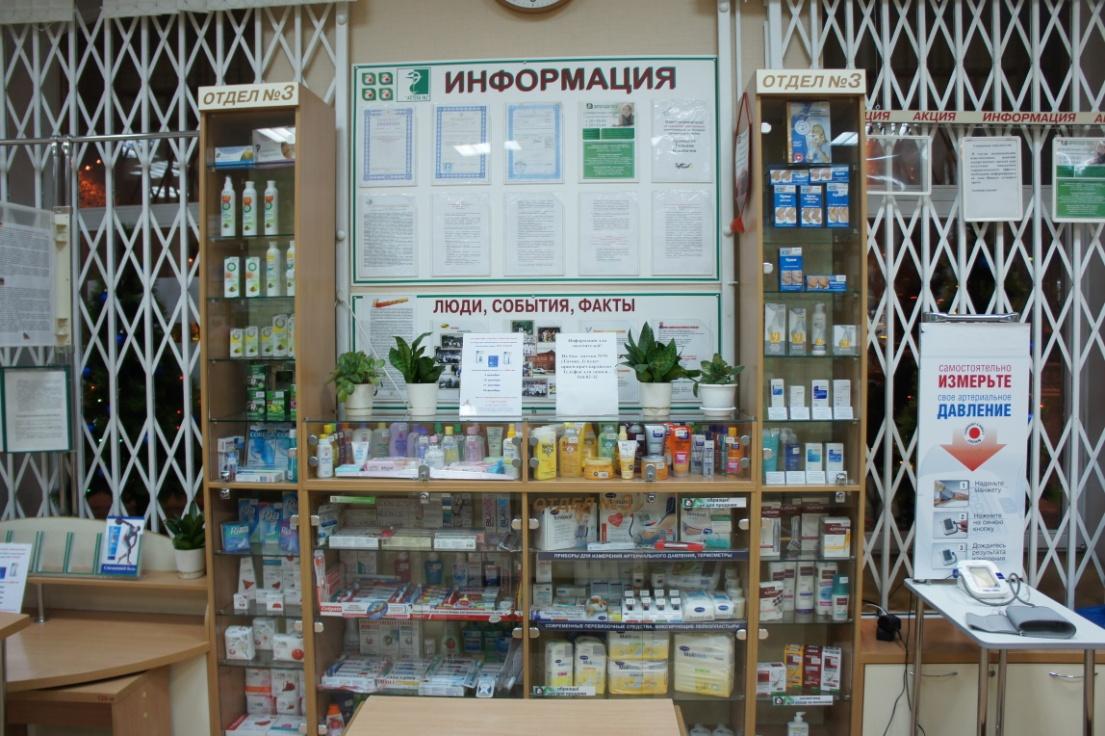 Знакомство С Производственными Помещениями Аптеки И Их Назначением