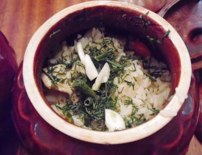 Рецепты из риса в горшочке