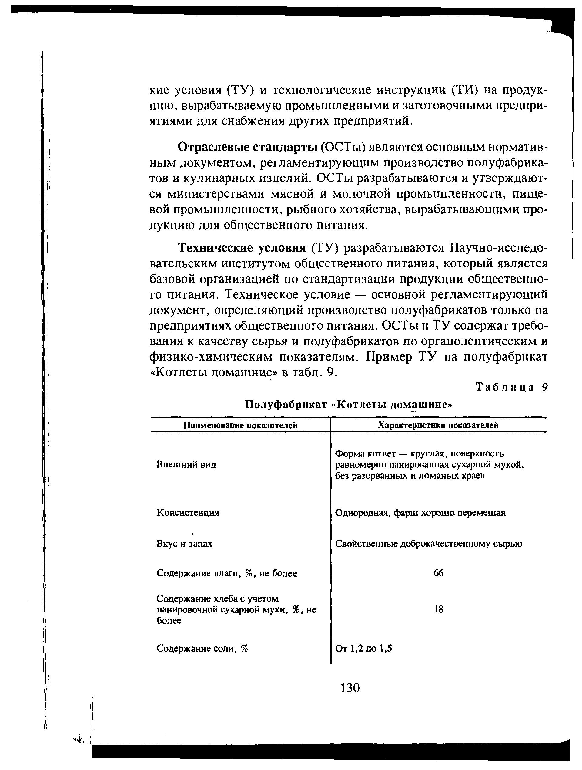 Отраслевая инструкция химического предприятия