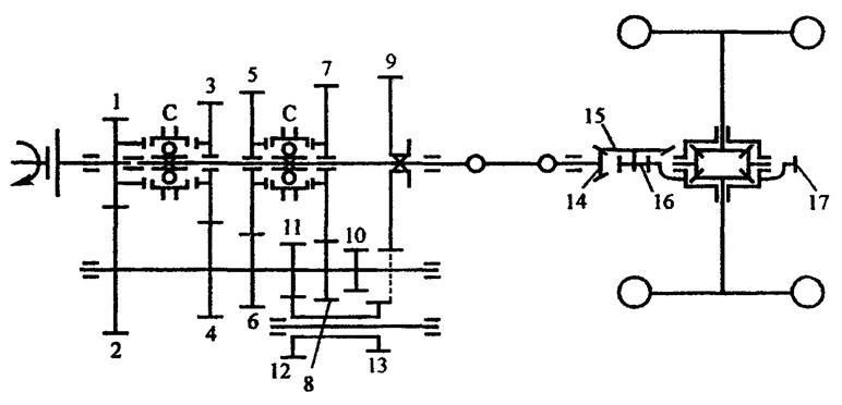 Кинематическая схема камаз 5320 фото 716