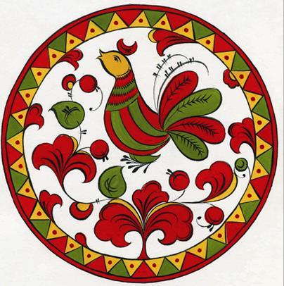 иду пермогорская роспись картинки эскизы которые вытянутые