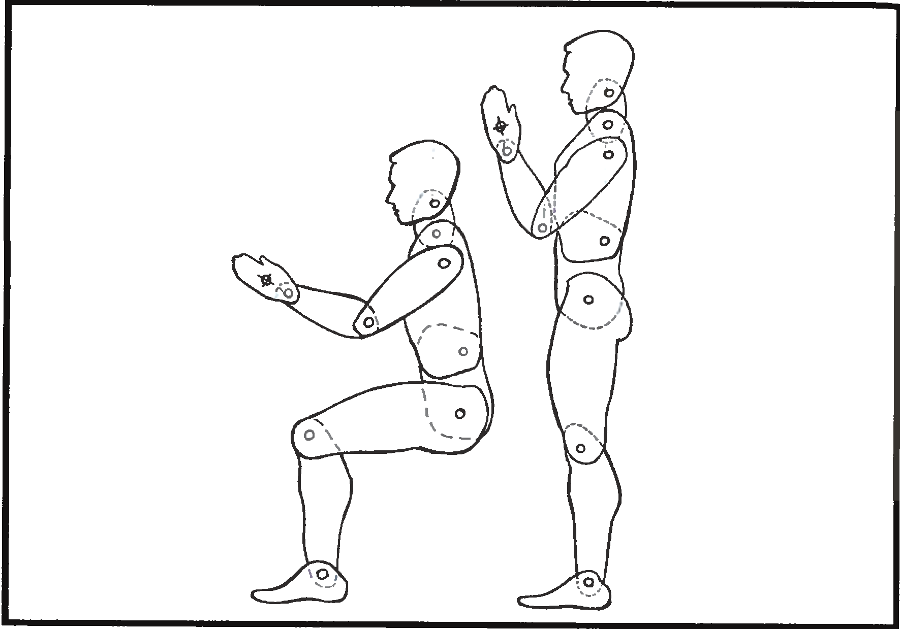 Схема модель человека