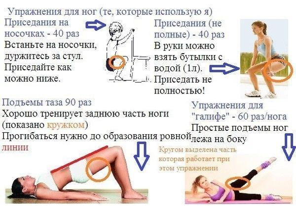 Как Эффективно Похудеть В Ногах И Попе. Как похудеть в попе (области ягодиц)