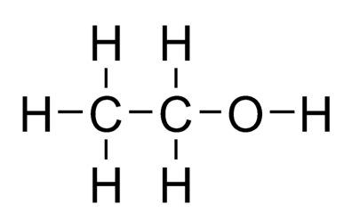 молекула этанола