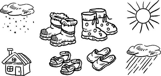 Задания в картинках обувь, винкс блум