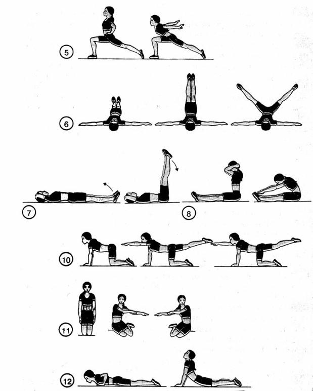 упражнения без предмета в картинках попадете этот