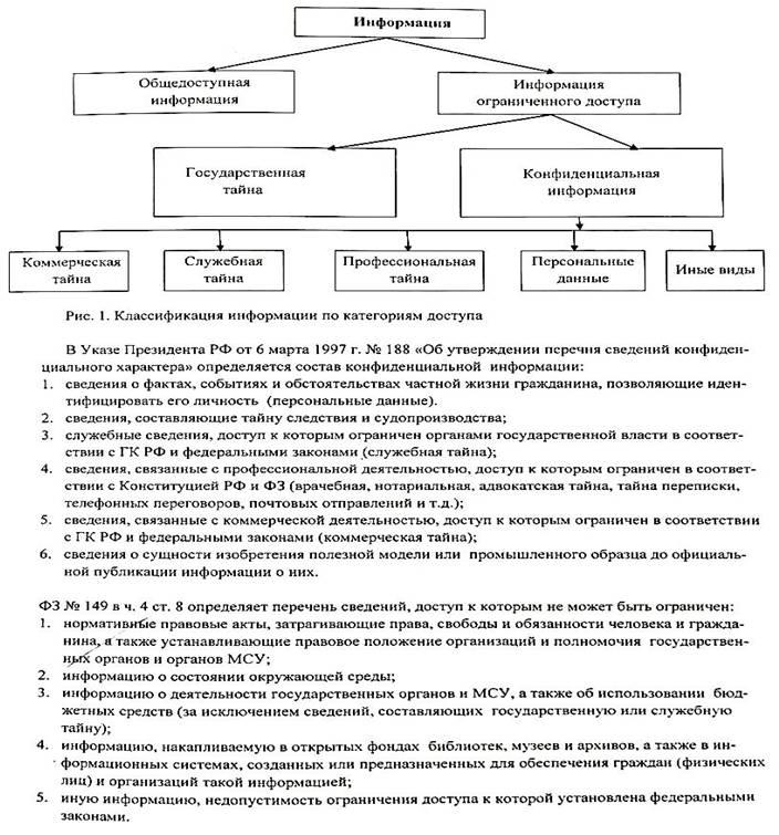 Право граждан на доступ к информации реферат 2558
