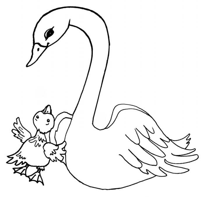 лебедь цифра два в картинках самой иконы, так