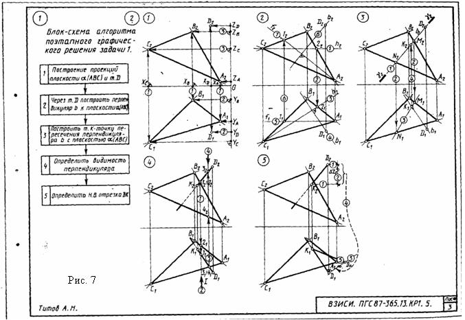 Черчение решение графических задач решение задач хабаровск