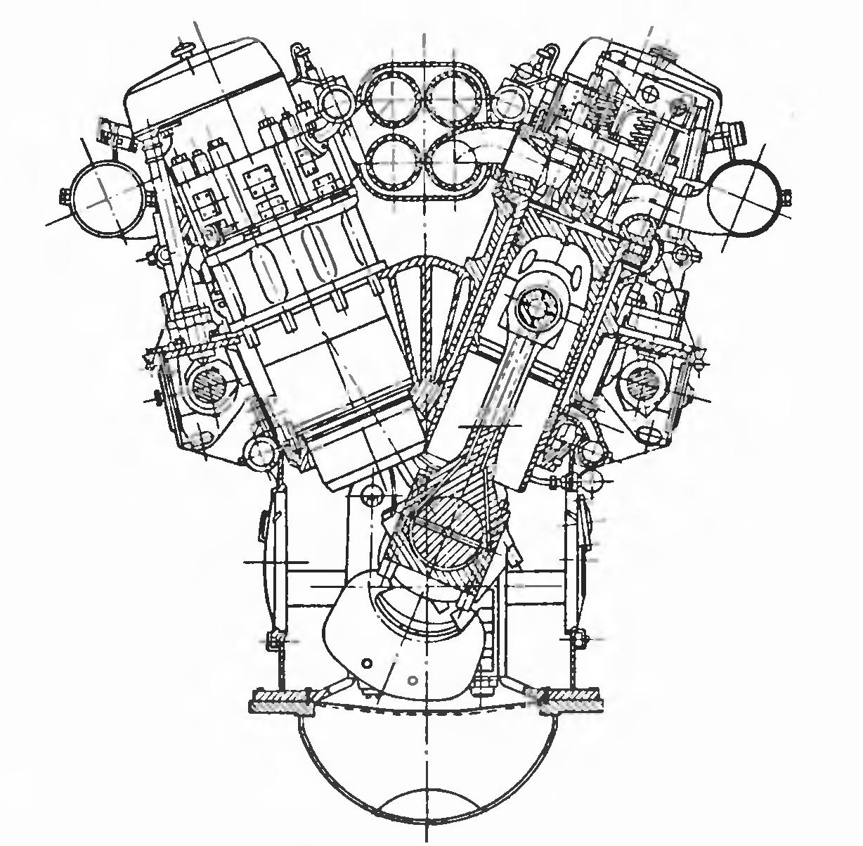 картинки двигатель чертежи