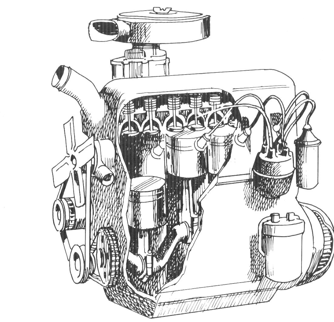 Схема дизеля в картинках