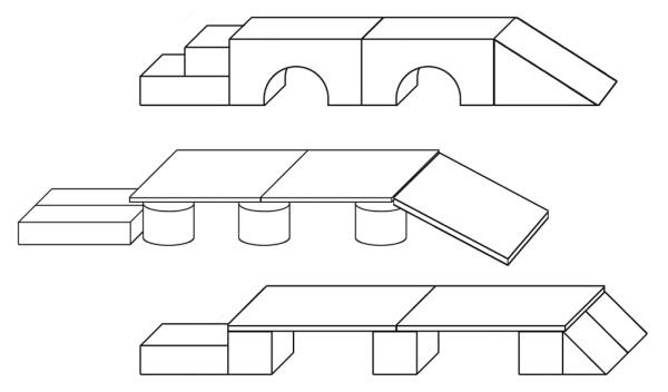 Картинки для детей схема конструирования мостов, днем