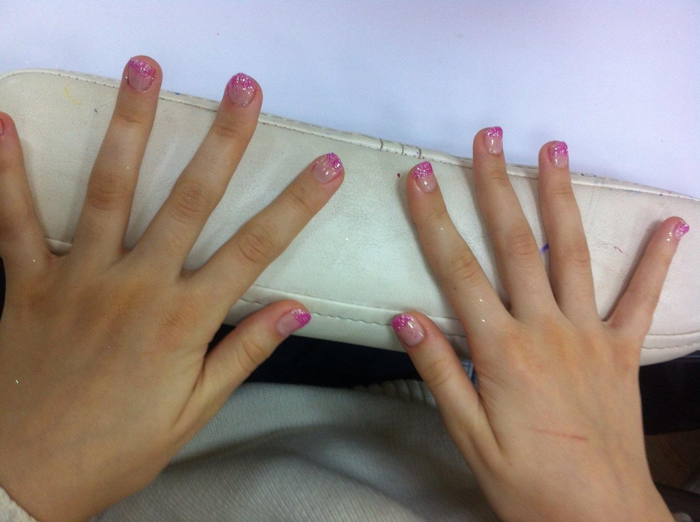 Ногти нарощенные ногти фото для детей