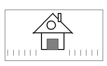 Картинка для методики домик