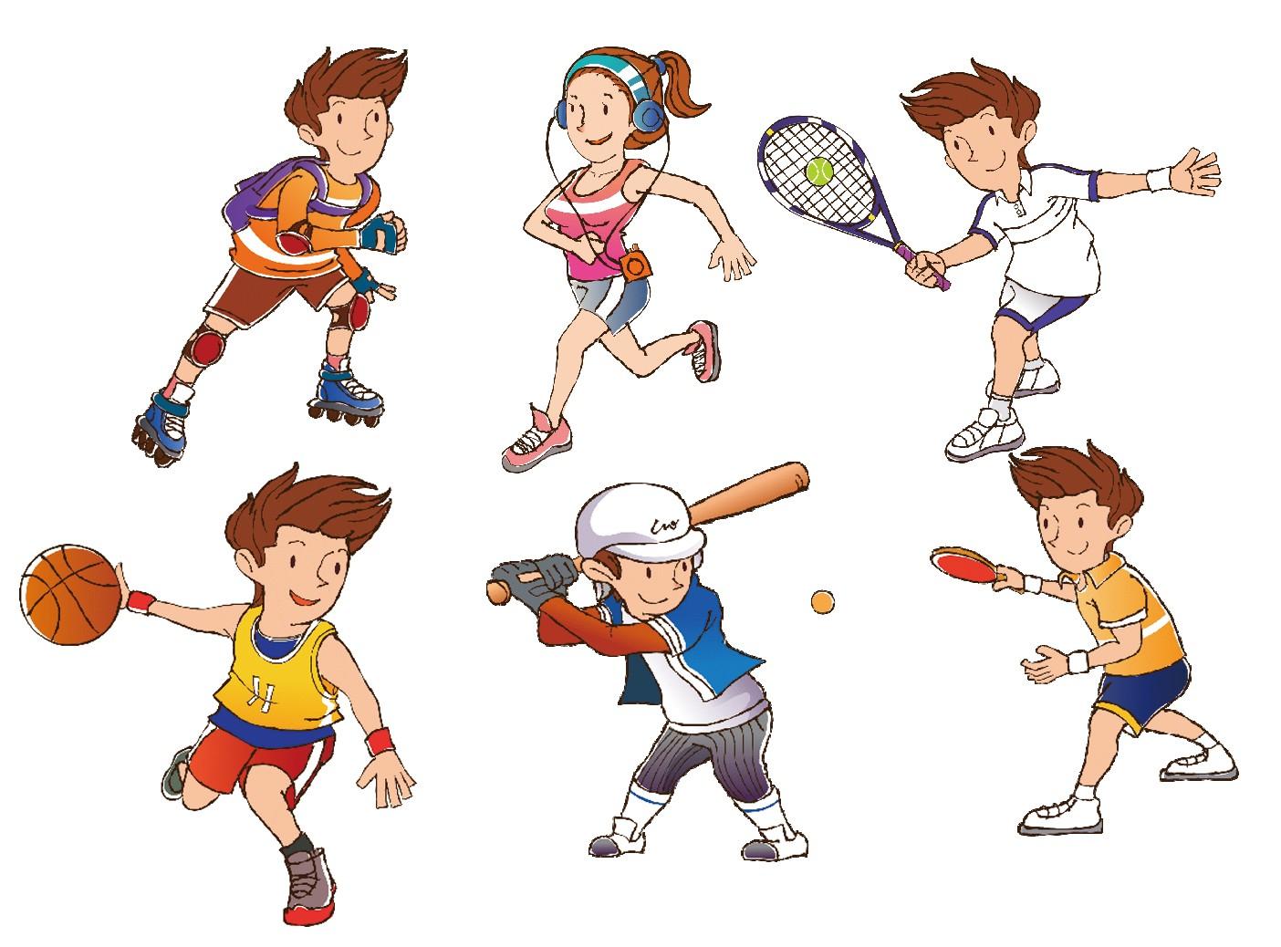 Спортивные картинки нарисовать