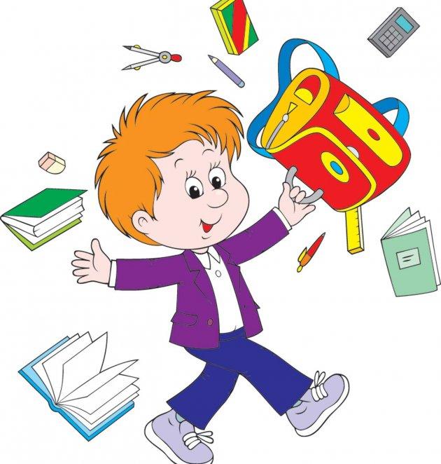 Картинка для 1 класса мальчик