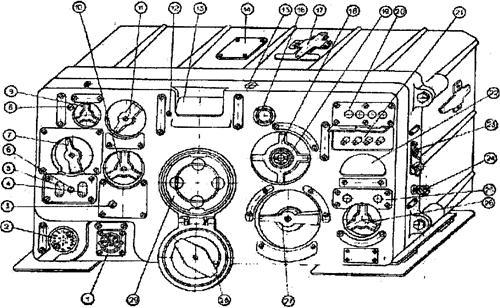 Разъем «Р-124» для кабеля от