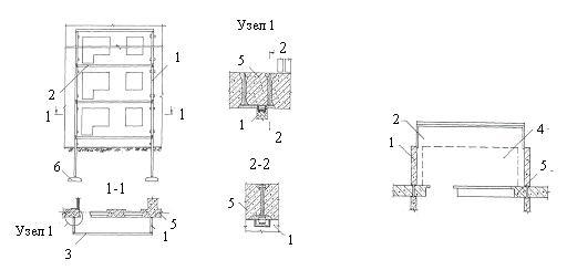 схема пристройки лоджий на